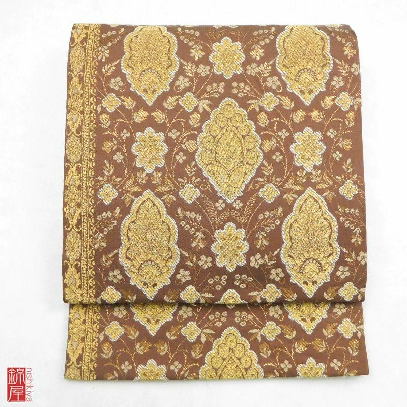 袋帯 六通柄 正絹 良品