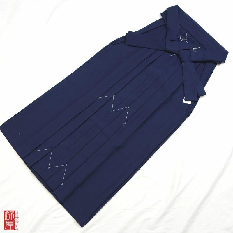 女性用 袴 紐下98.5cm 化繊 美品_画像1